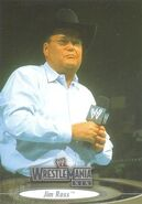 2003 WWE WrestleMania XIX (Fleer) Jim Ross 51
