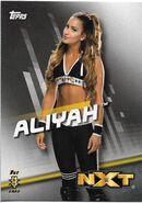 2016 WWE Divas Revolution Wrestling (Topps) Aliyah 37