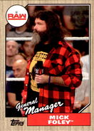 2017 WWE Heritage Wrestling Cards (Topps) Mick Foley 29