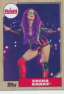 2017 WWE Heritage Wrestling Cards (Topps) Sasha Banks 34