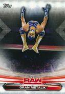 2019 WWE Raw Wrestling Cards (Topps) Gran Metalik 32