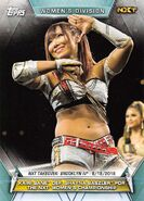 2019 WWE Women's Division (Topps) Kairi Sane 81
