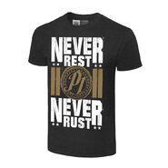 AJ Styles Never Rest, Never Rust Authentic T-Shirt