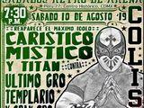 CMLL Sabados De Coliseo (August 10, 2019)