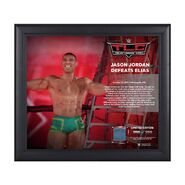 Jason Jordan TLC 2017 15 x 17 Framed Plaque w Ring Canvas