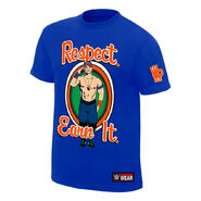 John Cena Respect. Earn It. Authentic T-Shirt
