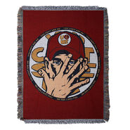 John Cena U Can't C Me Tapestry Throw Blanket
