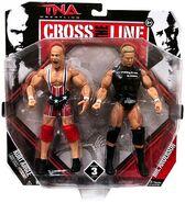TNA Cross the Line 3 Kurt Angle & Mr. Anderson
