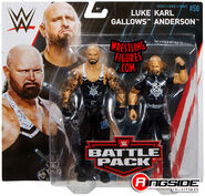 WWE Battle Packs 50 Luke Gallows & Karl Anderson