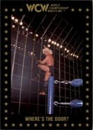 1991 WCW Collectible Trading Cards (Championship Marketing) Where's The Door 77