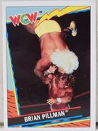 1992 WCW Trading Cards (Topps) Brian Pillman 3