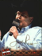 2001 WWF RAW Is War (Fleer) Jim Ross 8