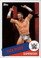 2015 WWE Heritage Wrestling Cards (Topps) Zack Ryder 100
