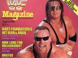 WWF Magazine - August 1990
