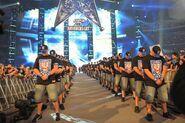 Cena's WM 25 entrance 1