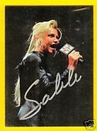 Sable wwf card