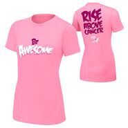 The Miz Rise Above Cancer Pink Women's T-Shirt