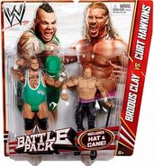 WWE Battle Packs 20 Brodus Clay & Curt Hawkins