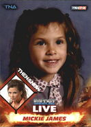 2013 TNA Impact Wrestling Live Trading Cards (Tristar) Mickie James 94