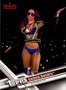 2017 WWE (Topps) Then, Now, Forever Sasha Banks 134