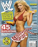 WWE Magazine August 2006 Issue