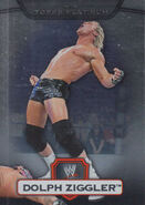 2010 WWE Platinum Trading Cards Dolph Ziggler 115