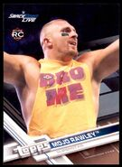 2017 WWE Wrestling Cards (Topps) Mojo Rawley 54