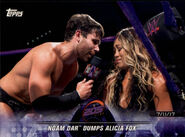 2018 WWE Road to Wrestlemania Trading Cards (Topps) Noam Dar 54