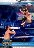 2019 WWE Road to WrestleMania Trading Cards (Topps) Daniel Bryan & Shane McMahon 95