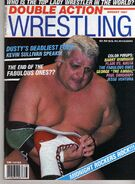 Double Action Wrestling - August 1987