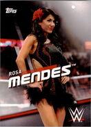 2016 WWE Divas Revolution Wrestling (Topps) Rosa Mendes 32