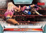 2019 WWE Women's Division (Topps) Asuka 61