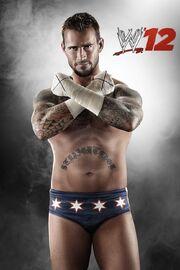 CM Punk WWE12.2