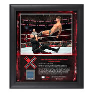 Finn Bálor Extreme Rules 2018 15 x 17 Framed Plaque w Ring Canvas