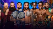 WM 34 Smackdown Triple Threat Tag Title Match
