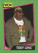 1991 WCW (Impel) Teddy Long 153