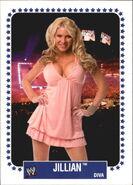 2008 WWE Heritage IV Trading Cards (Topps) Jillian Hall 60