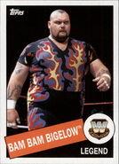 2015 WWE Heritage Wrestling Cards (Topps) Bam Bam Bigelow 4