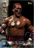 2017 Legends of WWE (Topps) Tatanka 87