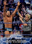 2018 WWE Road to Wrestlemania Trading Cards (Topps) Tye Dillinger 82