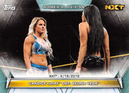 2019 WWE Women's Division (Topps) Candice LeRae 70
