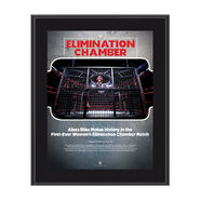 Alexa Bliss Elimination Chamber 2018 10 x 13 Commemorative Photo Plaque