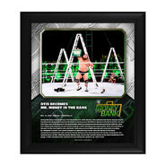 Otis Money In The Bank 2020 15 x 17 Limited Edition Plaque