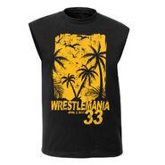 WrestleMania 33 Black Muscle Tee