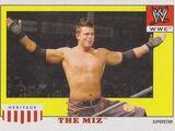2008 WWE Heritage IV Trading Cards (Topps) The Miz (No.37)