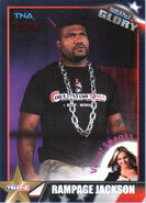 2013 TNA Impact Glory Wrestling Cards (Tristar) Rampage Jackson 66