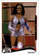 2014 WWE (Topps) Naomi 34