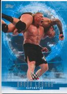 2017 WWE Undisputed Wrestling Cards (Topps) Brock Lesnar 7