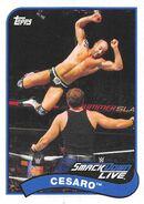 2018 WWE Heritage Wrestling Cards (Topps) Cesaro 20