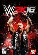 WWE 2K16 Cover (Stone Cold Steve Austin)